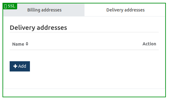 Address Information delivery